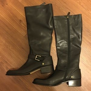 Delman Women's Tall Leather Riding Boots  👢